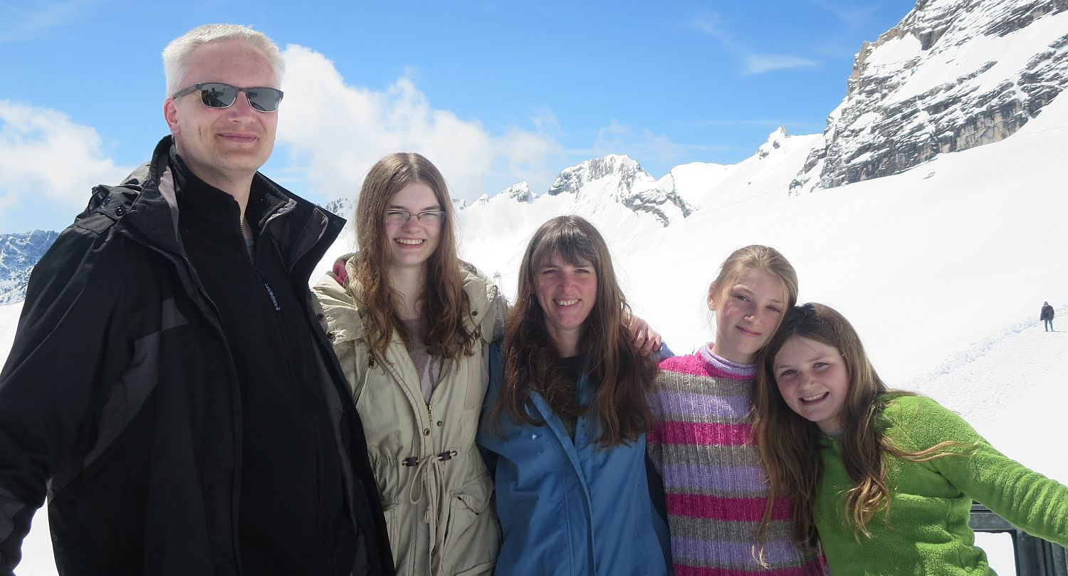 This is us on the Zugspitze (2016)